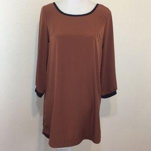 Ezra Copper Boho Midi Dress